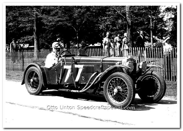 1934 Frazer-Nash TT replica at Bridgehampton