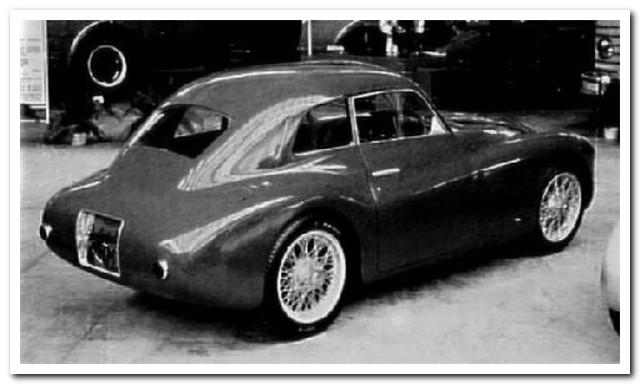 "Siata Prototype ""Orchidea"" as a Mille Miglia coupe 1949"
