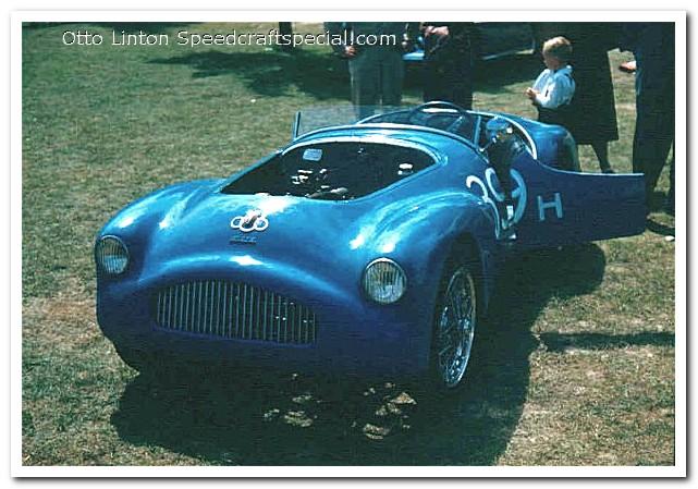"Siata Prototype ""Orchidea"" at Elkhart Lake road races 1951"