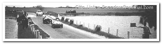Otto Linton's Siata Prototype at Bridgehampton 1953