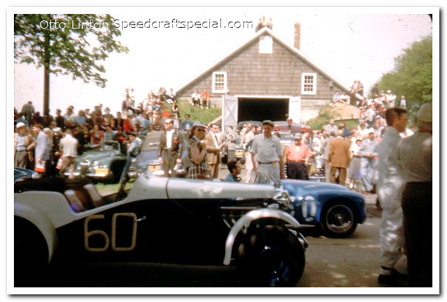 Otto Linton at the start Brynfan Tyddyn 1952