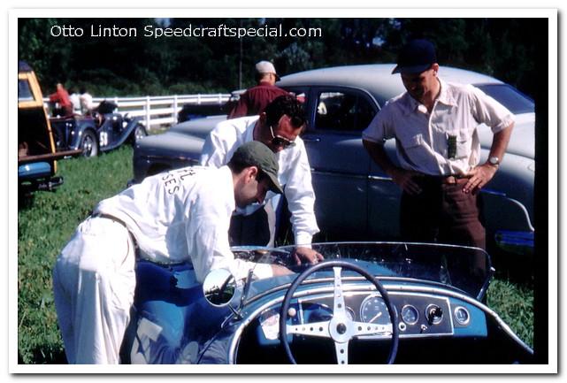 Otto Linton tuning at Brynfan Tyddyn 1952