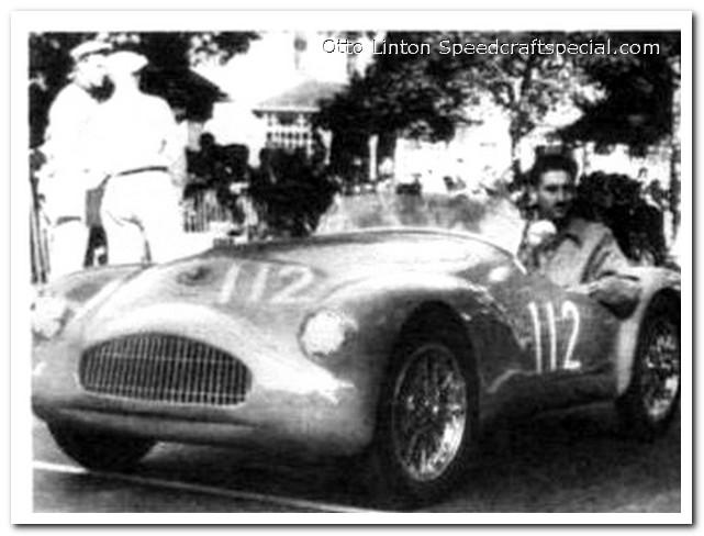 Otto Linton in the Siata Prototype at Watkins Glen 1952
